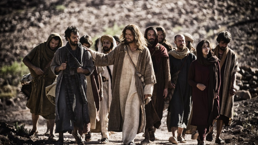 Image from the movie, Son of God.