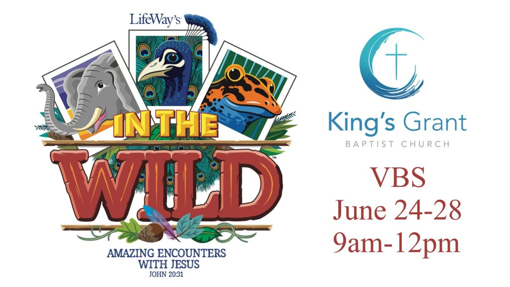 VBS 2019 – In the Wild – King's Grant Baptist Church